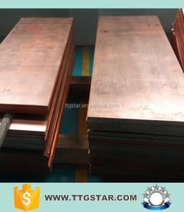 astm b152 c10100 oxygen free copper plate supplier in China