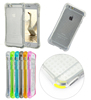 Hot! Luxury Soft Clear TPU Cases For iphone 6 / 6S 4.7 inch / 6 Plus 5.5 inch 5 5s Back Cover Bags