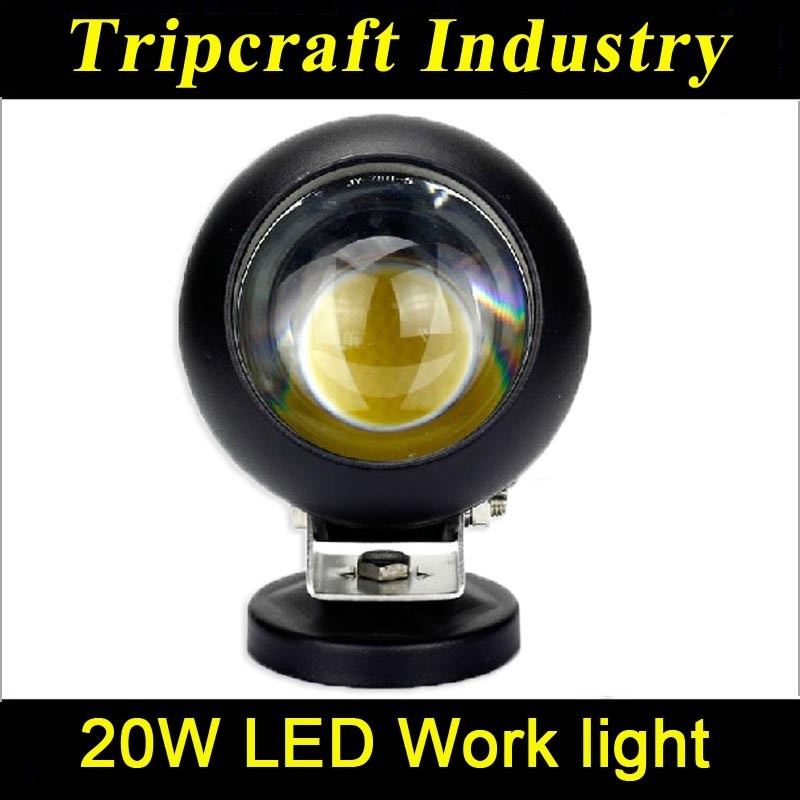 20W 10-60v IP67 C ree led work light <strong>auto</strong> 24 month warranty car led work light offrod 20w round led work light