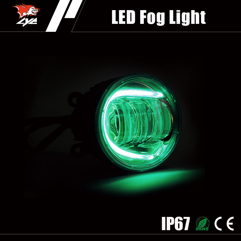 New Products OEM 30W DRL LED auto fog light for toyota hilux vigo