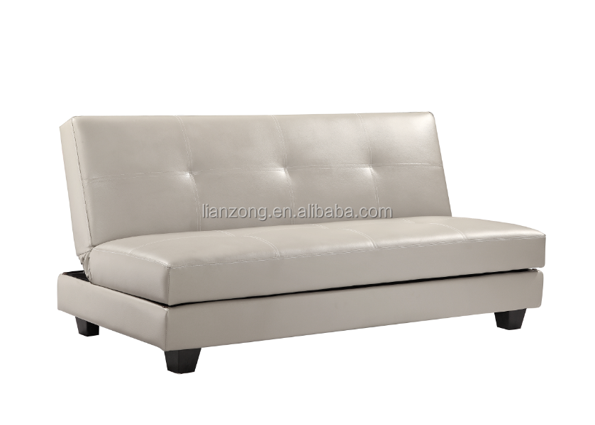 Hot selling latest design wooden sofa bed with storage bag LZ2059