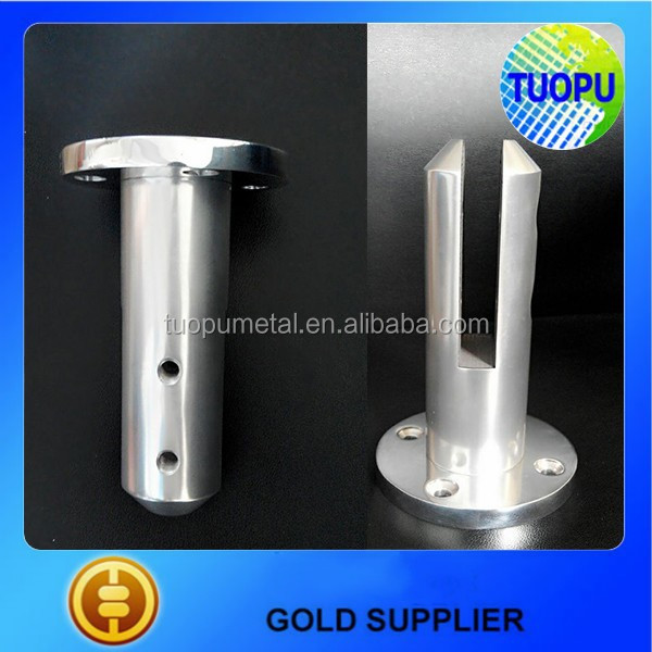 China cheap aluminium glass spigot glass railing supports aluminium glass balustrades spigots