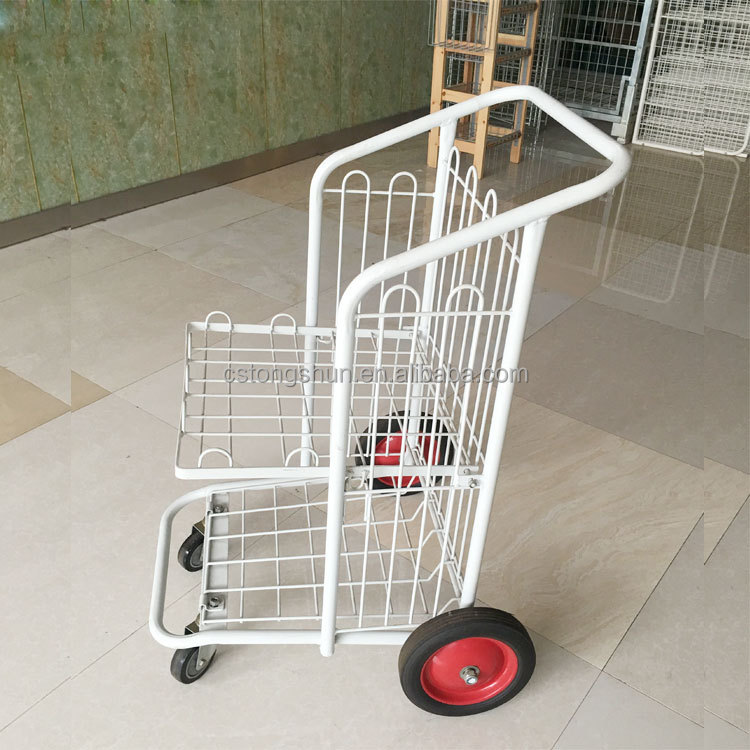 Supermarket roll cages trolley warehouse storage carts