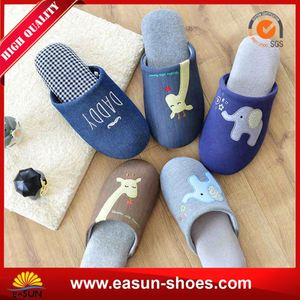 Adult Bunny Slippers New Canvas Shoes Personalised Leather Moccasin Slippers