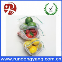 Colorful & clear small plastic packaging bag/Ziploc Big Bags, Jumbo Double with zipper on top
