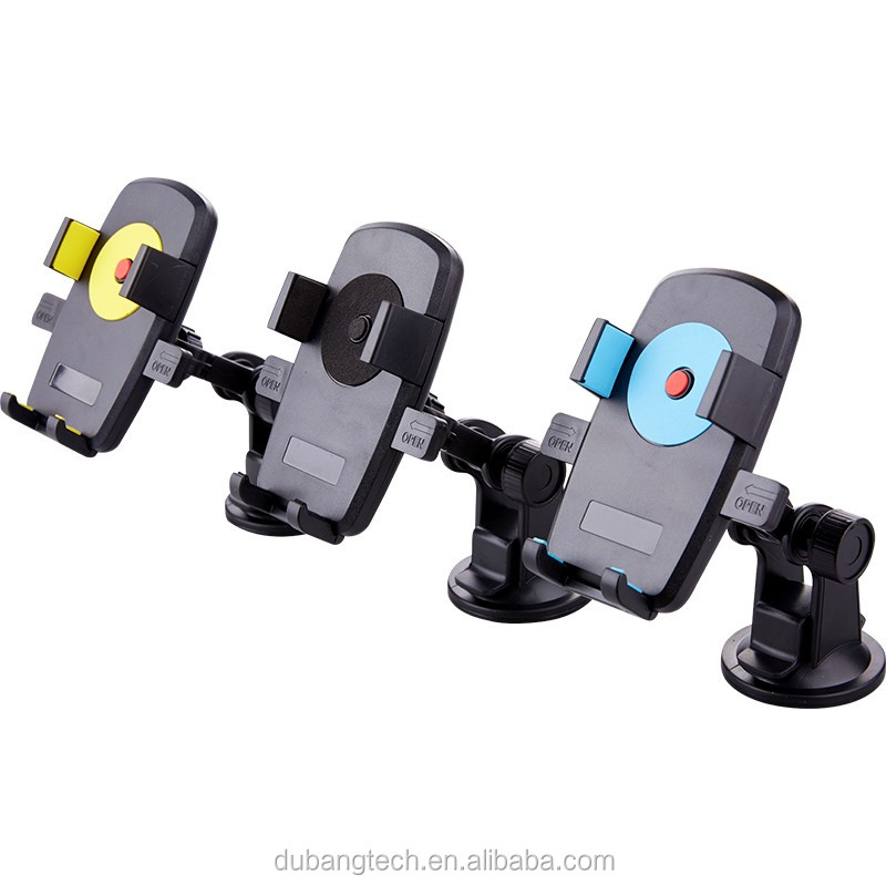 Multifunctional portable 360 rotating mobile phone holder for shopping cart/baby stroller/treadmill/handlebar