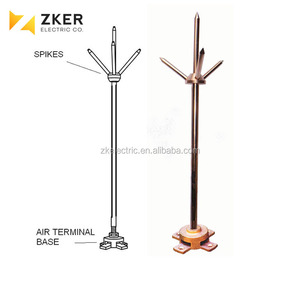 Optimized Lightning Rod ESE Lightning Arrester for Engineer Lightning Protection