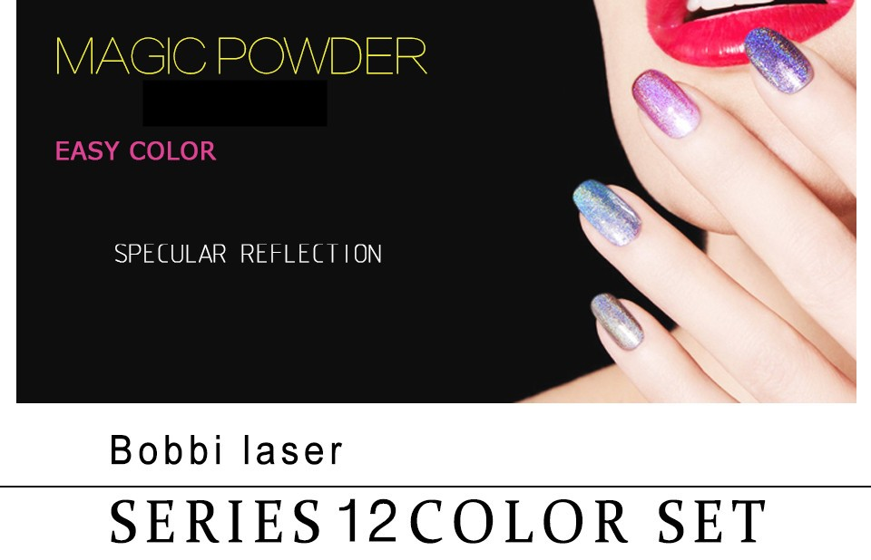 Mirror Pigment Powder For Nail Polish | Hession Hairdressing