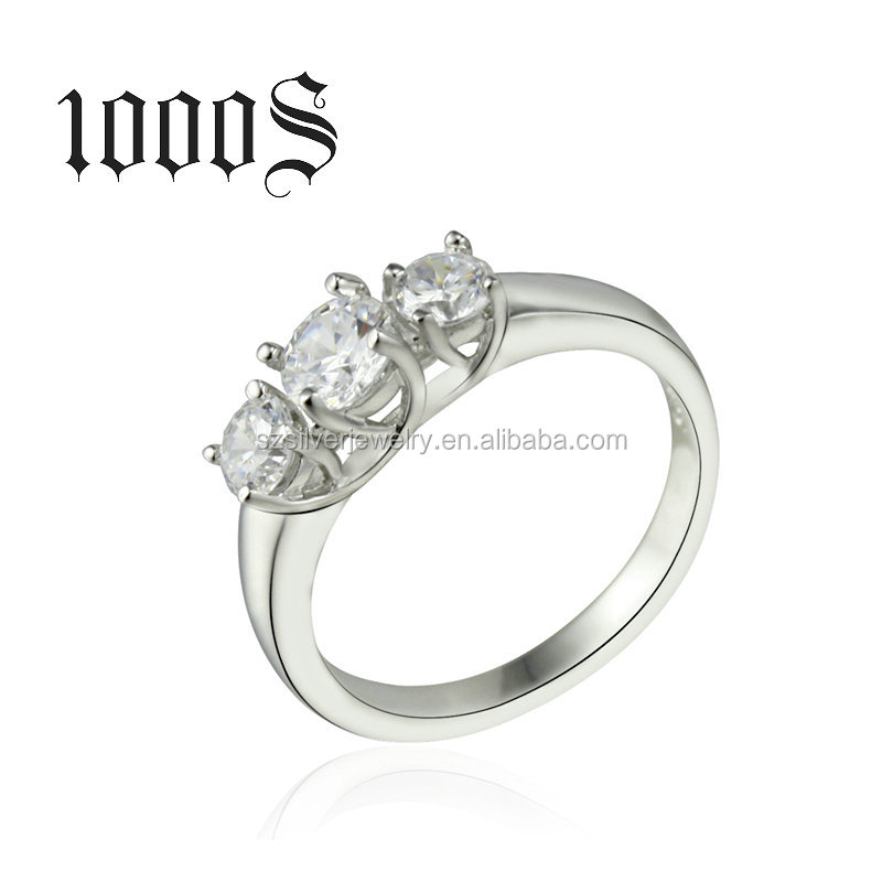 Wedding Ring Prices New Model Designs 925 Sterling Silver Finger Engagement Jewelry Wholesale Factory