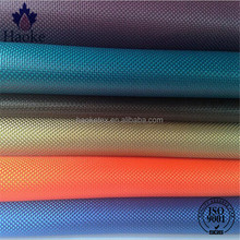 100% polyester double yarn pu coating 1680D polyester fabric / stab proof fabric / heavy duty waterproof fabric