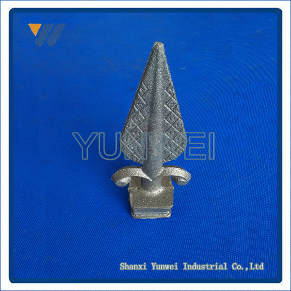 Ornamental Fashionable Cast Iron Spear For Sample Design Window Grills