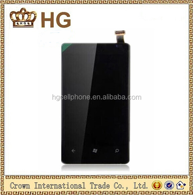 Replacement mobile phone Part For Nokia Lumia 800 Lcd With Touch Screen