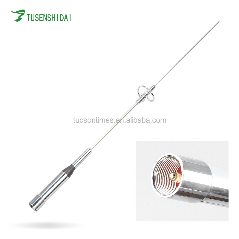 Stainless Steel SMA Male Antenna For Transceiver uhf/vhf Car Antenna