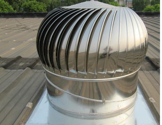 Turbina De Vento Ventilador De Teto Conduzida Industrial