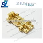 Gold plated F1 car shape USB flash drive in zinc alloy