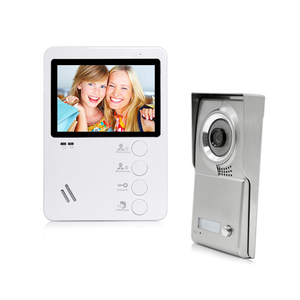 Home LCD Intercom System Wired Video Doorphone Factory
