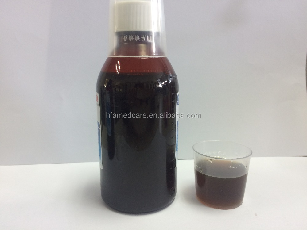 OEM & ODM Chinese traditional herbs syrup/nao li jing oral liquid