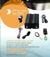 Most Cheap Real time GSM/GPRS/GPS Car Vehicle Tracker Quad Band TK103A