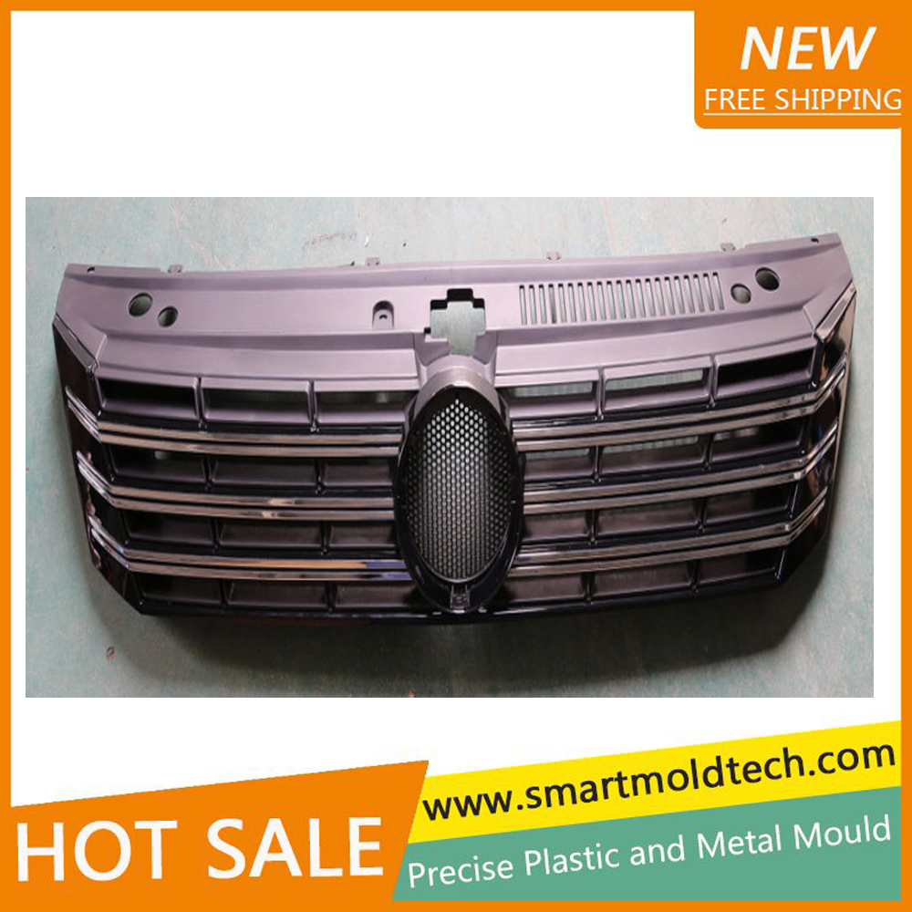 custom Car part injection mold moulding plastic front grills <strong>manufacturing</strong>