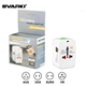 Promotion 2 Ports USB Portable Home Travel Wall Charger US/EU/UK/AU Plug AC Power travel adapter with usb port