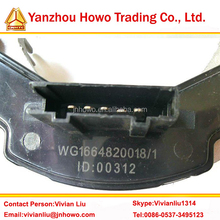 Low price SINOTRUK HOWO A7 truck parts air condition part WG1664820018