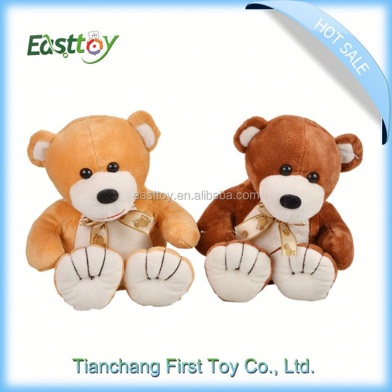 Meet EN71 and ASTM standard ICTI plush toy factory plush toy mp3 player