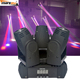 Hot Sharpy Beam Spot Wash 4in1 60w Led MARS Stage Light Triangle Spider Moving Head Light(spot+beam)