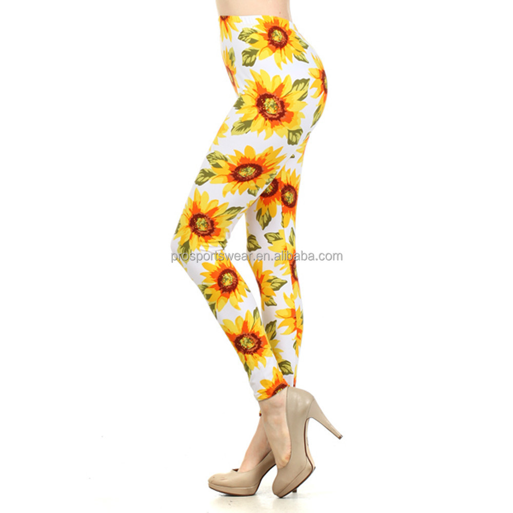 2016 Fashion Women Leggings Yoga Leggings Printed Leggings Active Wear