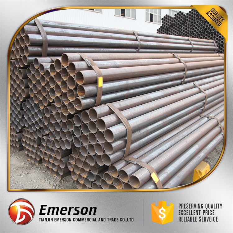 Black weld steel pipe welded stee round pipe manufacturer erw welding square tubes with good price