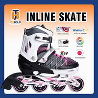 2015 CE approved Top selling adjustable size four wheel roller skate PU wheel ABEC-7 Bearing