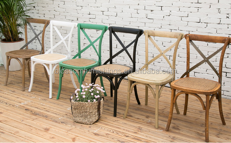 Wooden X Chair Cross Al Wedding Back Bentwood