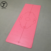 Anti-Tear wear-resisting white leather eco friendly best yoga mat brand