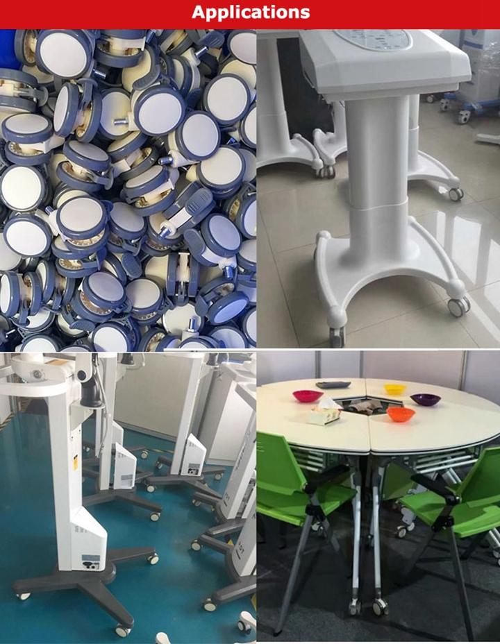 65mm גריפ טבעת בורג רפואי עגלת גלגלית גלגלי תינוק מיטת מטלטלין ארון קיק