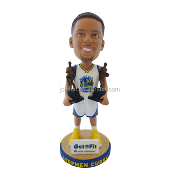 customized plastic sports player collectible famous people bobble head