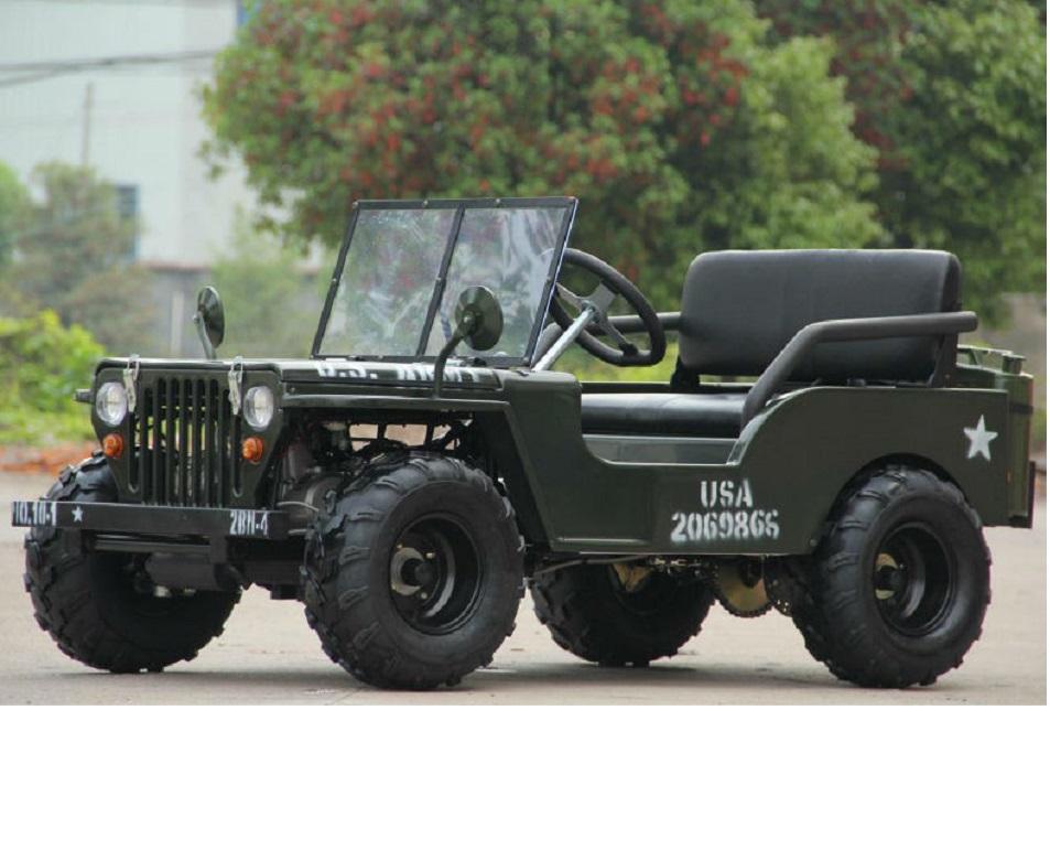 110cc125cc150cc Mini Jeep Willys For Sale