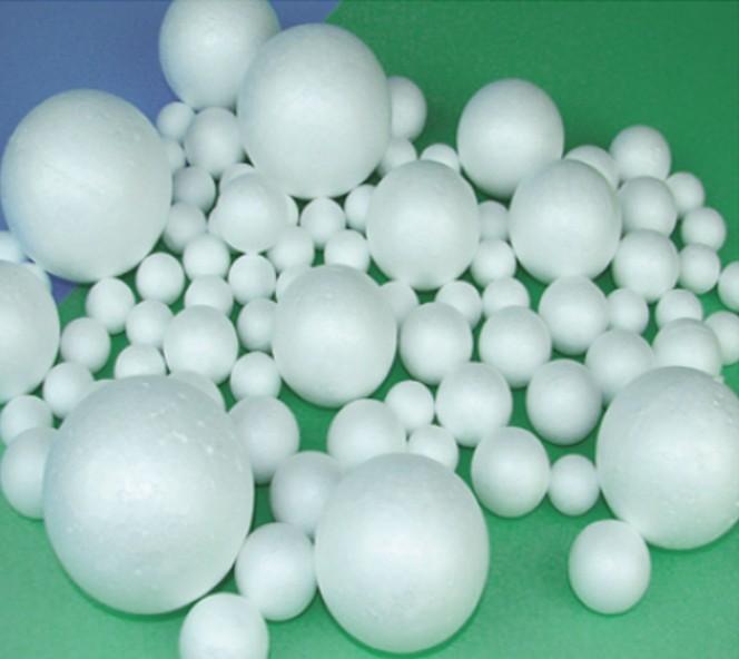 DIY Manual Material,Diameter 6cm Foam Balls,Styrofoam