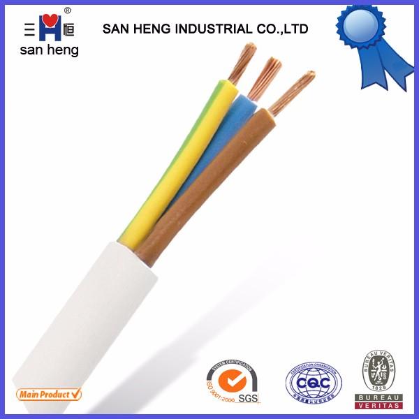 Hot! H05vv-f 3x0.75 3x1.0 3x1.5 3x4 3x6 Mm2 Cable Factory Pvc ...