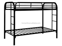 cheap adult metal frame bunk bed