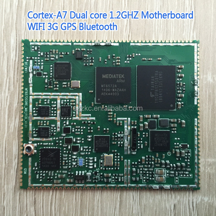 MediaTek Dual Core Mainboard Industrial Motherboard with 1gb Memory
