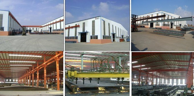 China factory price prefabricated steel structure building workshop