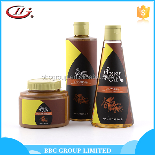 BBC Argan Oil Gift Sets Suit 001 New products cheap natural organic argan shampoo