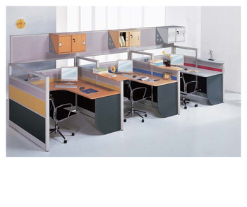 Hot Office Executive Cubicles With