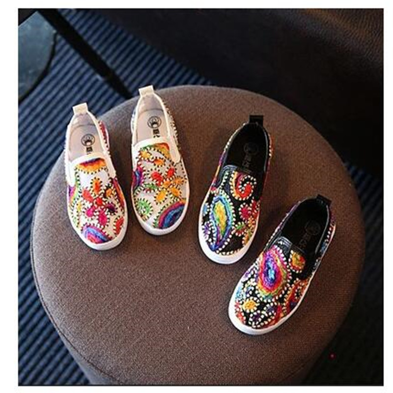 2016 male autumn girls shoes flower shoes lazy Moccasins casual fashion shoes