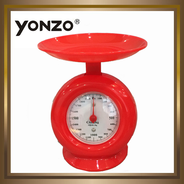 5kg capacity 40g division oem mechanical scale