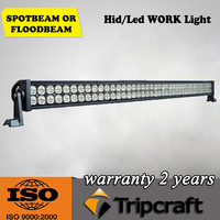 42 inch 240w dual row flood spot combo beam Epistar camber led light bar