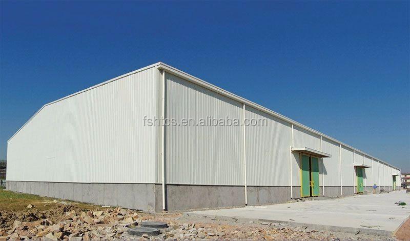 Steel Structure Workshop/construction Building/industrial Building ...