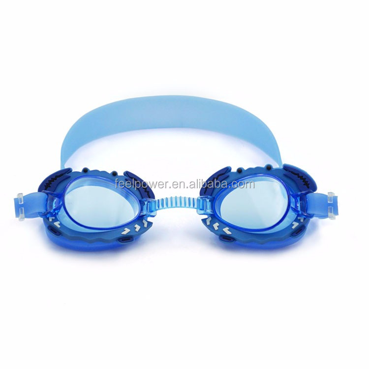Most Popular Unique Design Crab Kids Swimming Goggles