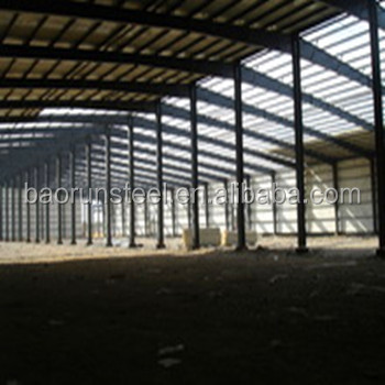 China Construction Frame Design Prefabricated Structural Steel Workshop