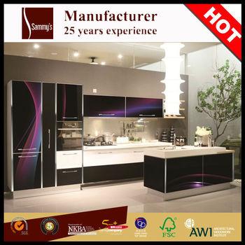 SK415 Custom Horizontal Mahogany Indian Kitchen Cabinets Antique Design  Custom Horizontal Mahogany China Cheap