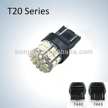 Hotsale 50 Smd Auto Led Verlichting T20 W21/5w 7443 7440 Led Lampen ...